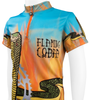 Children's Flaming Cobra Jersey Off Front Detail