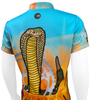 Kid's Flaming Cobra Jersey Top Back Detail