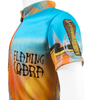 Flaming Cobra Jersey Sleeve Detail