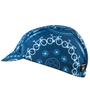 blue cycling cap