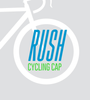 """Aero Tech Rush Cycling Caps - Black and Gold """"P"""" Pittsburgh - Made in USA"""
