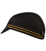 Letter P cycling cap