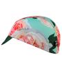 pink rose cycling cap