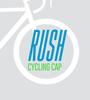 Rush cycling cap in pinecone print