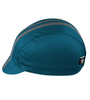 Aero Tech Rush Cycling Caps - Classic Teal and Gray Stripe - Made in USA