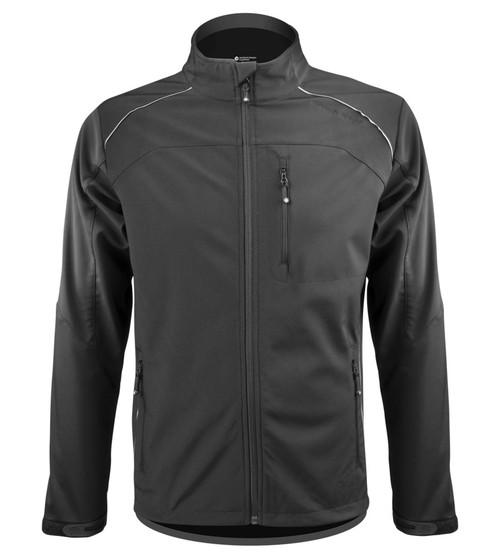 Aero Tech Men's Multi-Sport Softshell Jacket - Windproof Breathable Reflective