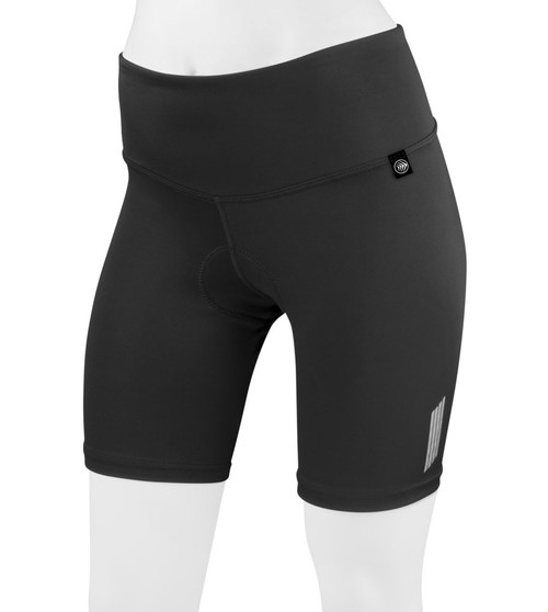 Aero Tech Women's FIT 8 Inch Thrive Slenderizing PADDED Cycling Short