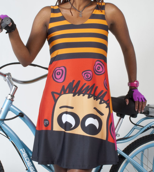 Volt Designer Fitness and Biking Dress GARCON  ECUME no.107