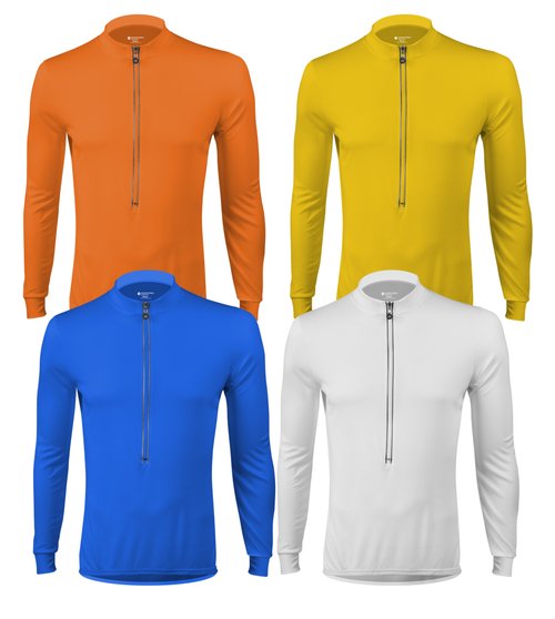 Aero Tech Wicking Long Sleeve Cycling Jersey Icon