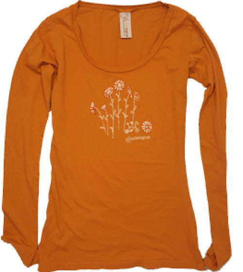 Cyclelogical Cycling T-Shirt Flower Forest by Cyclelogical