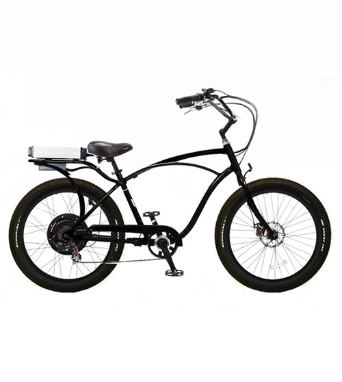 Pedego Interceptor Electric Bicycle in White or Black