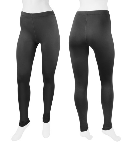 Aero Tech Women's Spandex Tights Stretch Workout Leggings - UNPADDED