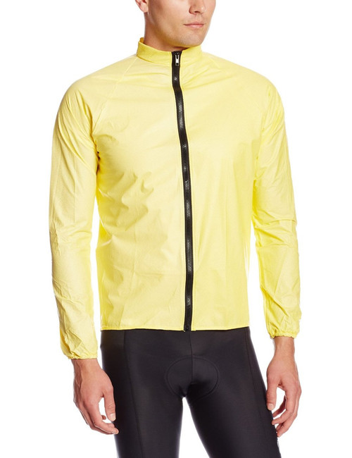 O2 Unisex Rainshield Cycling Rain Jacket Yellow