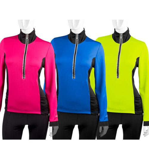 Aero Tech Women's Chilly Girl Cycling Jersey - Long Sleeve