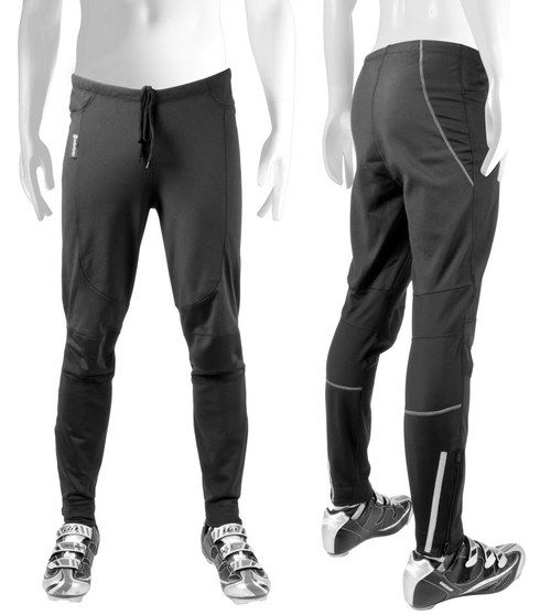 Men's Thermal WindStopper Tights Back and Front View