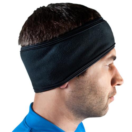 Aero Tech Cold Weather Headband - Stretch Fleece Headband Covers Ears for Cycling, Running, Ski