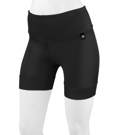 Aero Tech Women's FIT 5 Inch Thrive PADDED Cycling Short Made in USA
