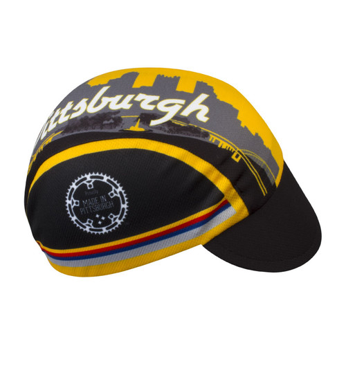 Aero Tech Rush Cycling Caps - Pittsburgh  Proudly Made in USA