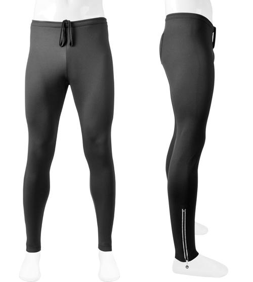 Aero Tech BIG Men's Stretch Fleece Exercise Pants with reflective zipper ankle