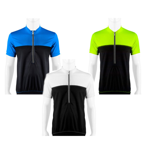 Aero Tech Men's Shadow Cycling Jersey Made in USA w Reflective Trims