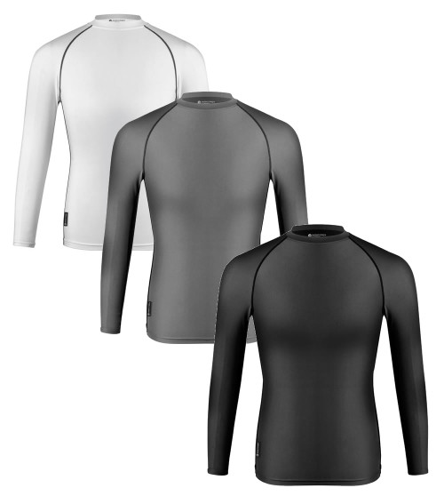 Aero Tech Compression Shirt - Long Sleeve Spandex Top