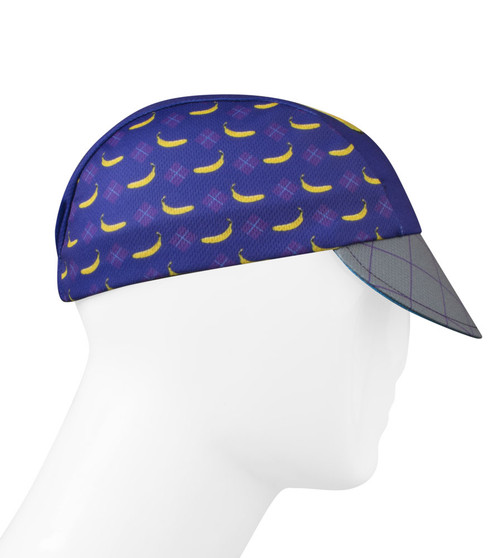 Aero Tech Rush Cycling Caps - Banana Peeling - Made in USA