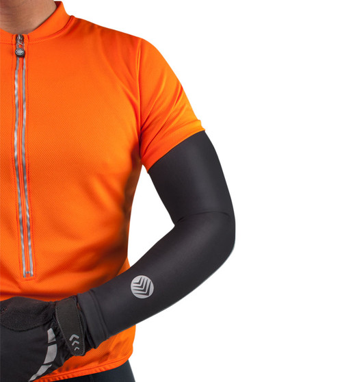 Aero Tech Cold Weather Arm Warmer - Base Layer with Reflective Logo