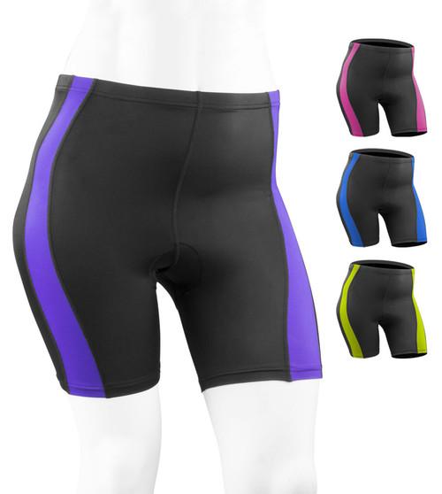 Aero Tech PLUS SIZE Women's Classic 2.0 PADDED Bike Shorts - Made in USA