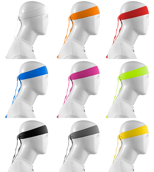 Aero Tech Headband Tie Sweatband Icon