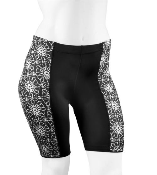 Aero Tech PLUS SIZE Women's Gina Cycling Short - Pizelle Print
