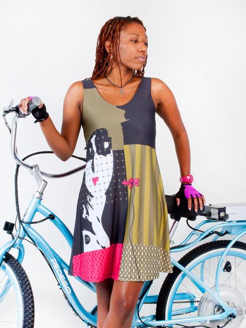 Volt Designer Fitness and Biking Dress - ZOE no.26