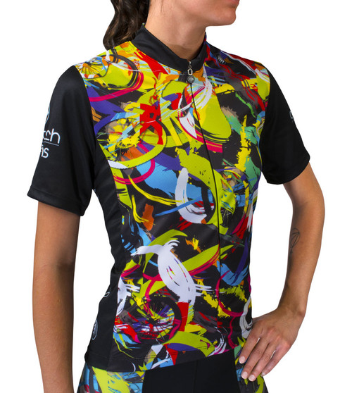 designer cycling jersey for women
