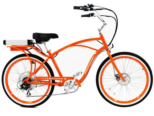 Pedego Orange Electric Bicycle Classic Frame