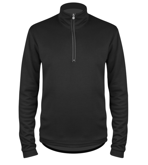 Long Sleeve Merino Wool Jersey Front View