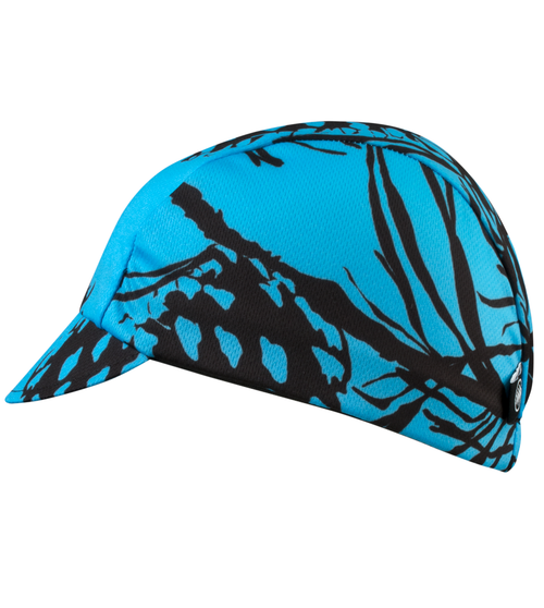 cycling cap in pinecone print