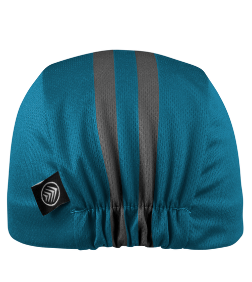 Rush_Cycling Caps_Classic_Teal_Back