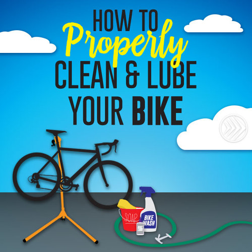How To Properly Clean and Lube Your Bike