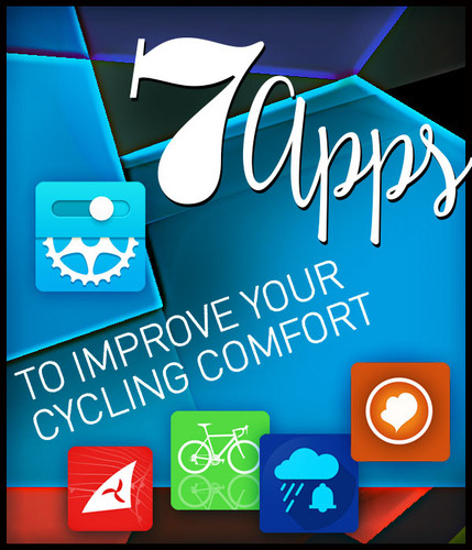 7 Apps to Increase Your Cycling Comfort