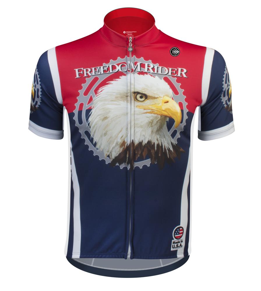 Aero Tech Sprint Jersey - Freedom Rider Bike Jersey - Made in USA 8406c3488