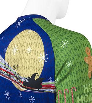Christams Sweater Stitch Detail