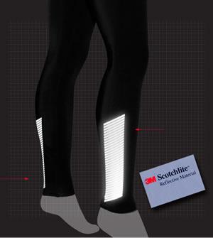 reflective tights