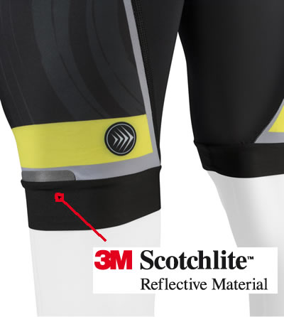 leg elastic for cycle shorts