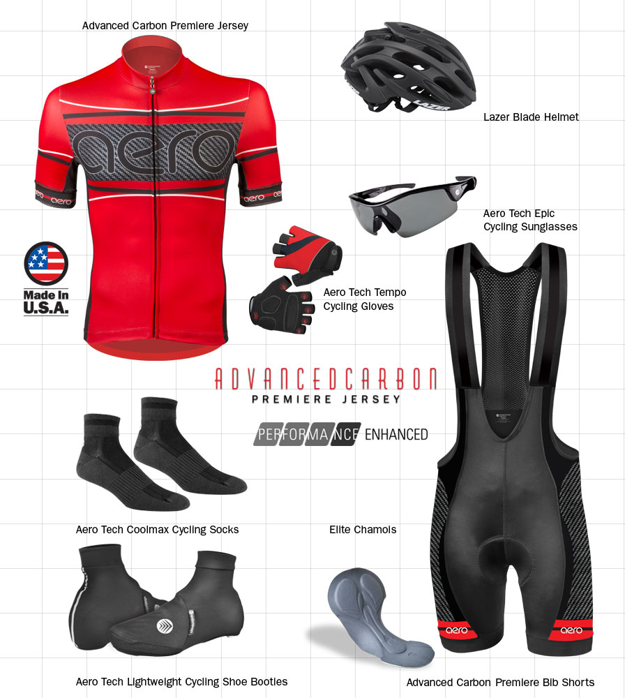 Red Advance Carbon Cycling Kit