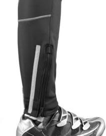 Men's Thermal Wind Proof Pants Ankle Zipper Detail