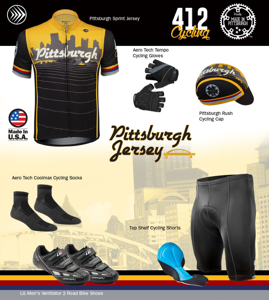 Pittsburgh Jersey Kit