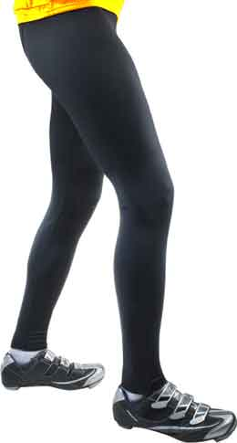 black lycra spandex tights