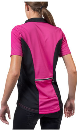 pink cycling jersey