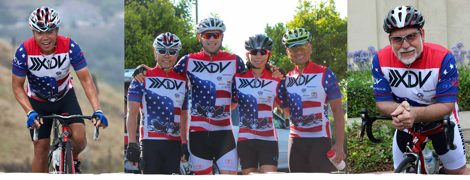 bicycling vets riding for a cause