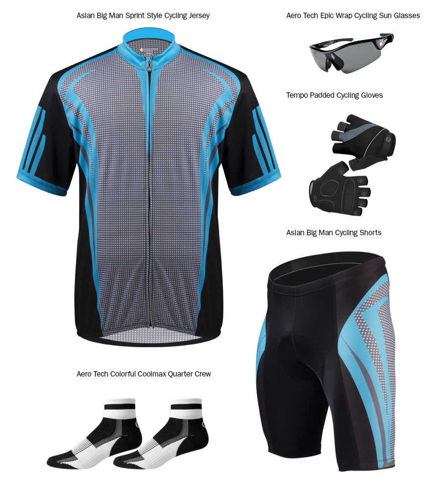 plus size cycling apparel from Aero Tech