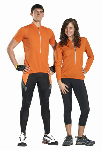 orange bike jerseys